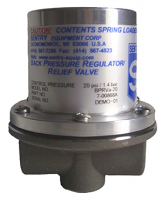 Photo of Back Pressure Regulator/Relief Valve (BPRV)