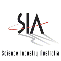 SIA (Science Industry Australia) logo